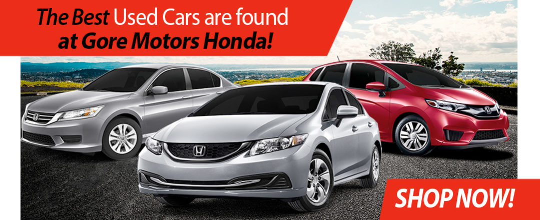 Best Used Cars in Thunder Bay Ontario from Gore Motors Honda