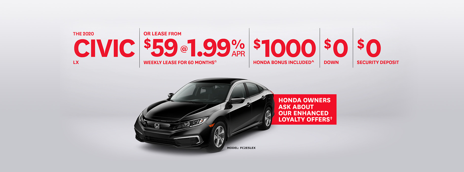 Honda Civic Specials & Promotions