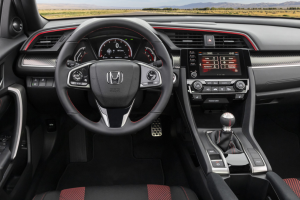 2020 Honda Civic Sedan SI interior 1