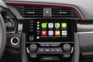 2020 Honda Civic Si Sedan interior